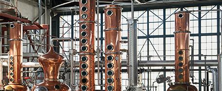distillery construction