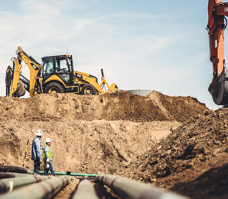 Professional pipeline services