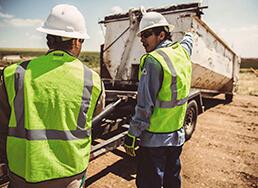 Sanitation industrial waste removal service