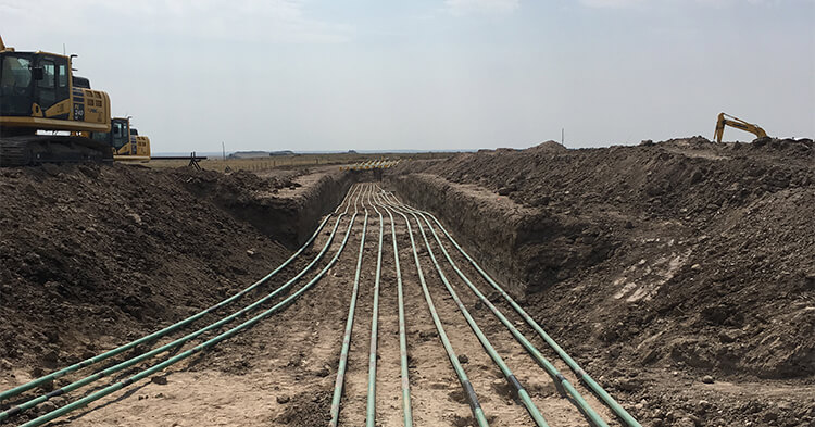 pipe line services
