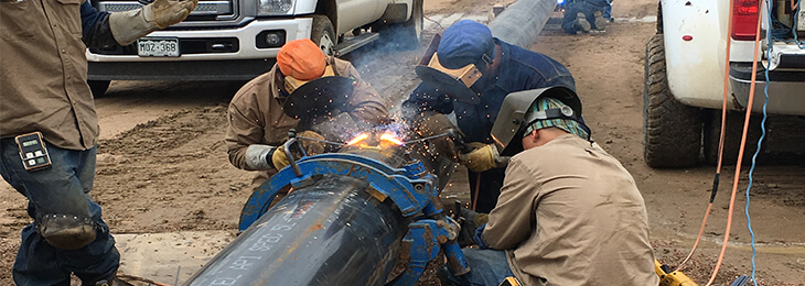 pipe welding services