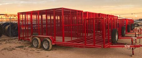 waste management trailer